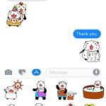 ぱぱんだっこステッカーをリリースしました!(iOS10のiMessage対応)